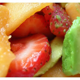 Melon and Strawberry Salad