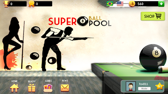 Super 8 Ball Pool Screenshot
