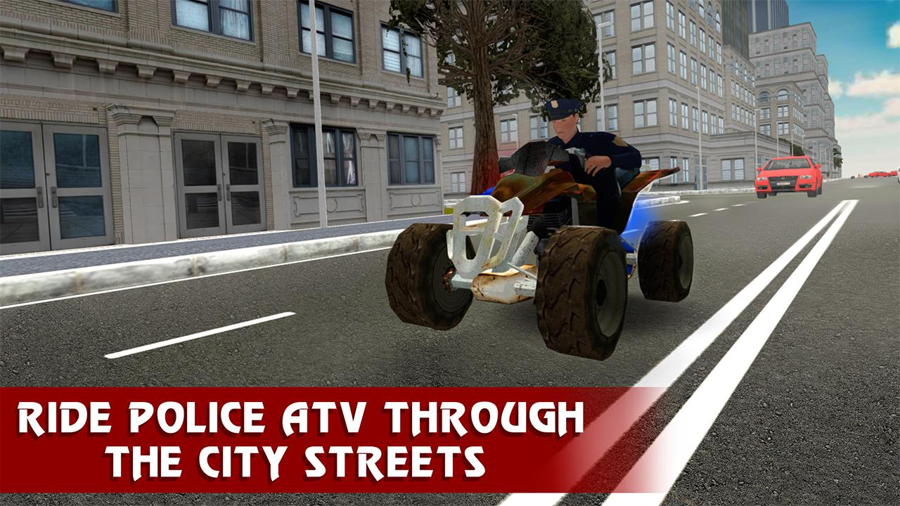 Police Atv Quad Bike Racing 3d Android Apps On Google Play