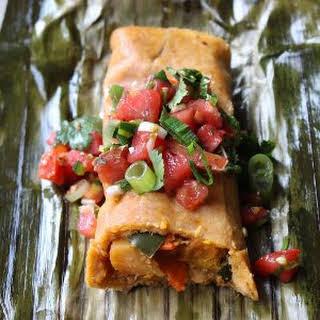 Sweet & Spicy Vegan Tamales.