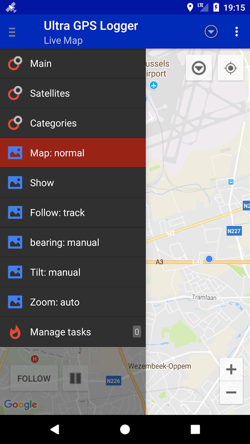 Ultra GPS Logger Screenshot 2