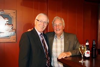 Photo: John Dugan and George Carscallen