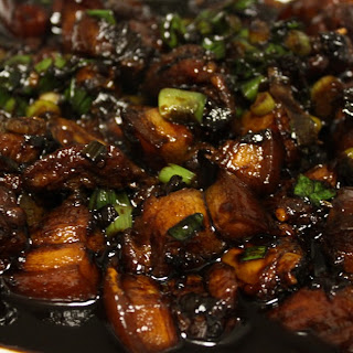 Soy Sauce Pork Cubes Recipe