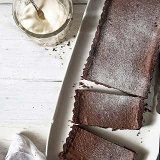 Salted Double Chocolate Tart.