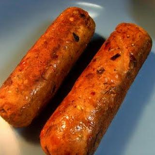 Gluten-Free Spicy Italian Sausages.