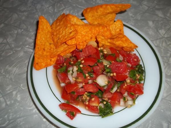 Garden Fresh Pico Recipe