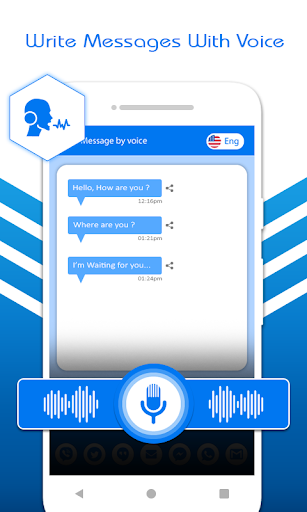 Voice SMS : Write SMS By Voice - Voice Message App screenshots 2