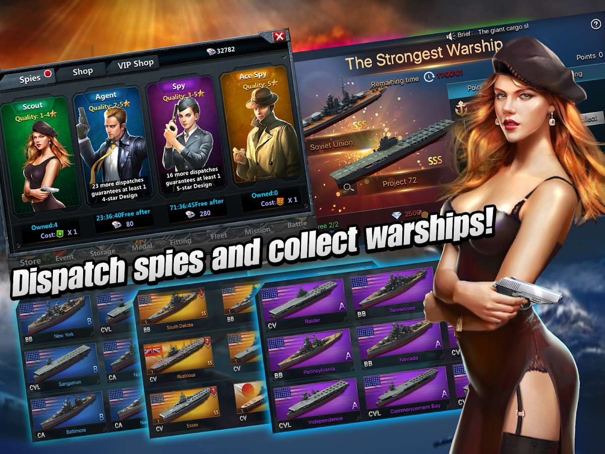 Warship Commanders- screenshot