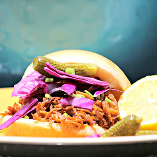BBQ Pulled Pork Picnic Sandwiches #SundaySupper