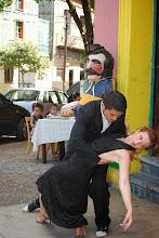 Photo: I finally saw tango dancers