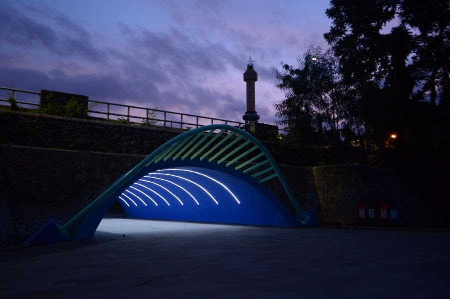 Terowongan Wisdom Park UGM