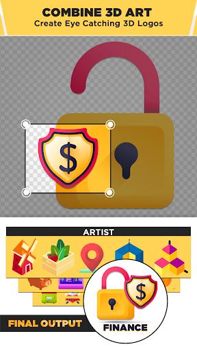 3D Logo Maker: Create 3D Logo and 3D Design Free 1.2.8 Screenshots 6