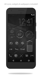 Glass Pack – Transparent Theme (Pro Version) 3.2.3 Patched Latest APK Free Download 1