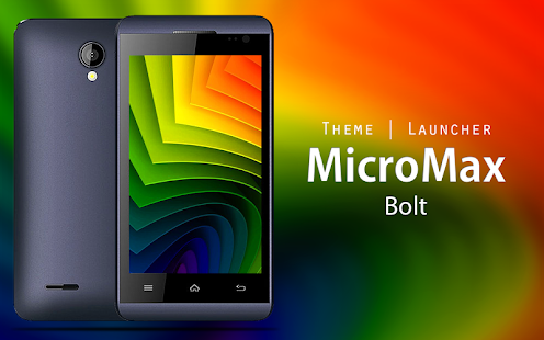 Theme for Micromax Bolt - náhled