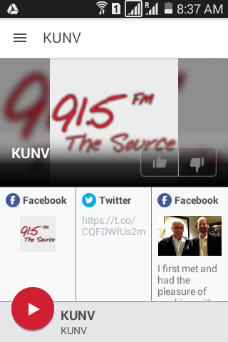 KUNV- screenshot