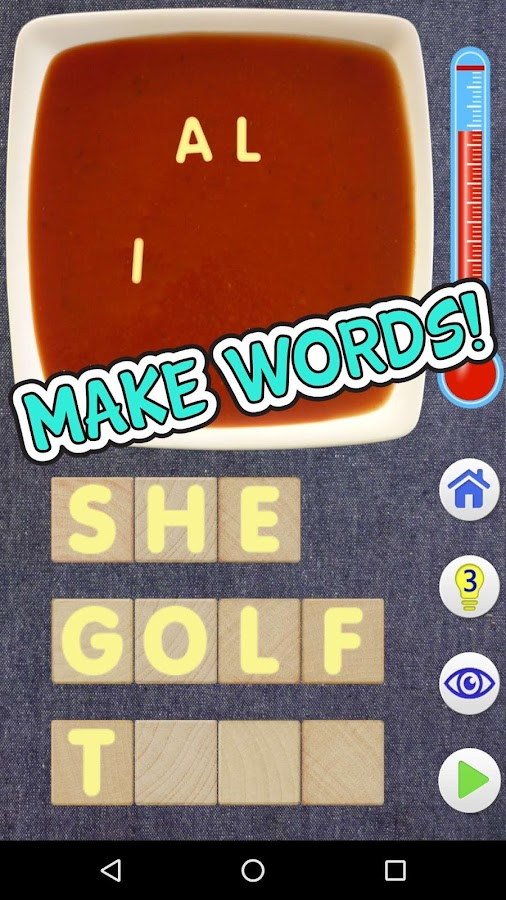 Word Bowl Soup- screenshot