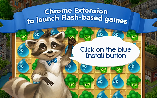 Quick launch of Flash-based games