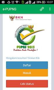 0 e-PUPNS App screenshot