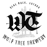 Logo for Wolf Tree Brewery