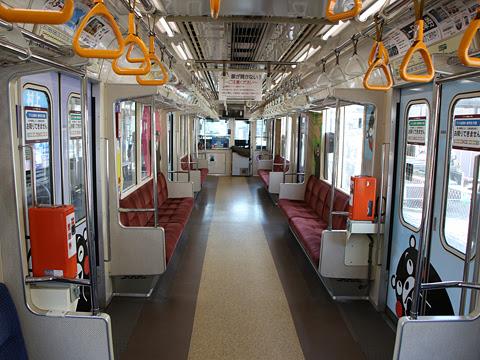 熊本電気鉄道 01形電車 上熊本駅にて その7