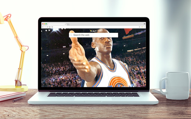 Space Jam Wallpapers New Tab Theme