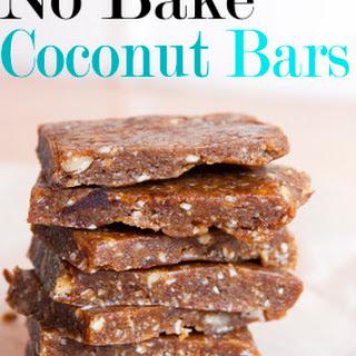 No Bake Coconut Bars.