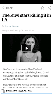 NZ Herald News- screenshot thumbnail