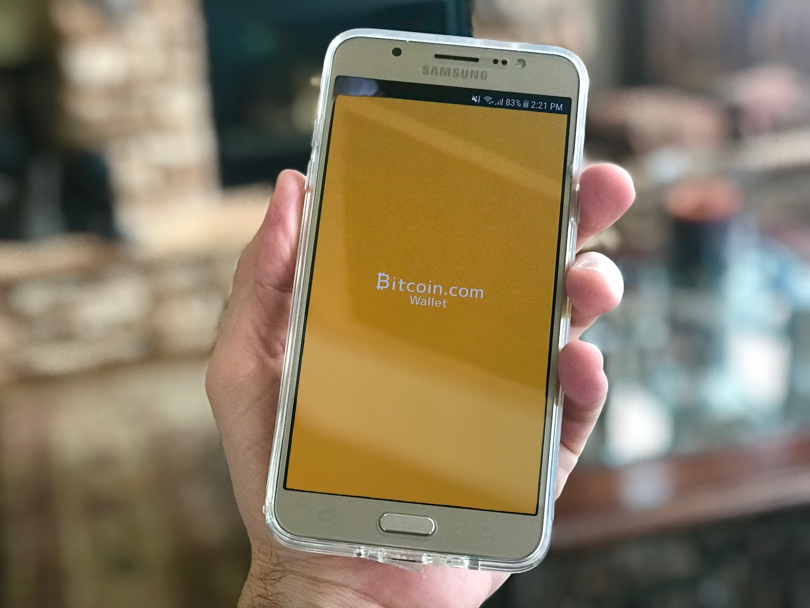 bitcoin wallet app on samsung mobile