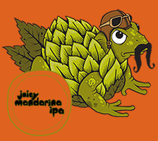 Logo of New Belgium Hop Kitchen Juicy Mandarina IPA