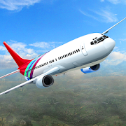 Plane Flight Simulator 18 - Real Pilot Flying Game