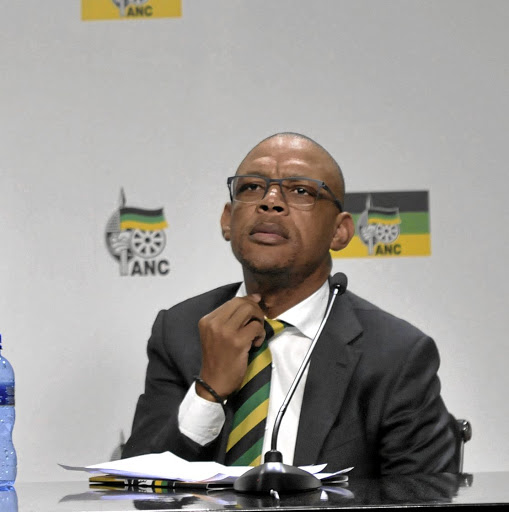 ANC spokesperson Pule Mabe is accused of sexual harassment by an employee.