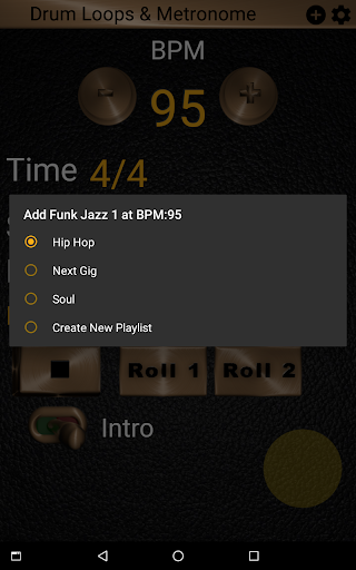 Drum Loops & Metronome Free Outro and Tap BPM screenshots 10