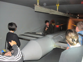 Photo: Inside the wind tunnel!! — at NASA Ames Research Center.