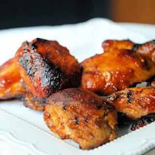 Pressure Cooker Honey BBQ Boneless Chicken Thighs.