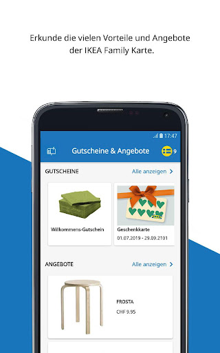 IKEA Family Schweiz - screenshot