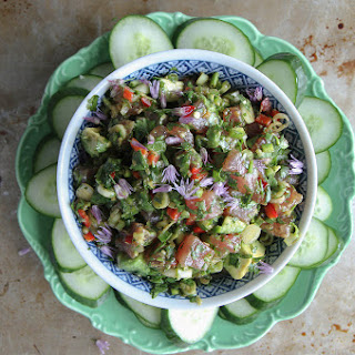 Asian Tuna Tartar.