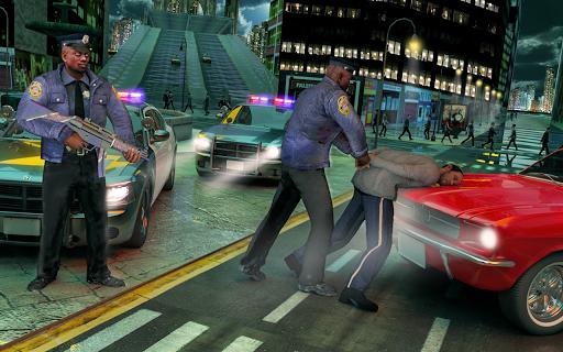 Code Triche NYC Ville la criminalitu00e9 Cops Gang Wars APK MOD (Astuce) screenshots 2