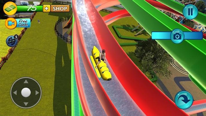 Water Slide Downhill Rush - screenshot