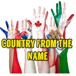 Country From The Name Icon