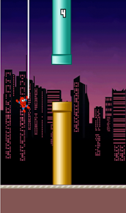 Flappy Spidey - Homecoming to Flappy World- screenshot thumbnail