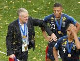 Didier Deschamps roemt zijn jonge ploeg die wereldkampioen is geworden