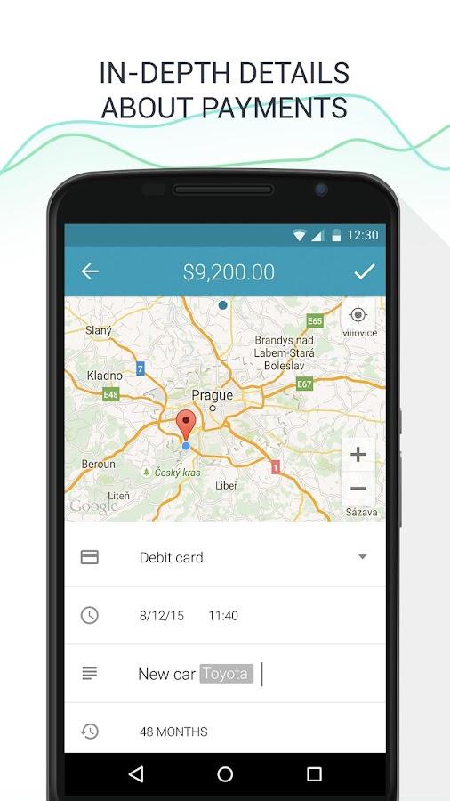 Wallet - Budget Tracker- screenshot