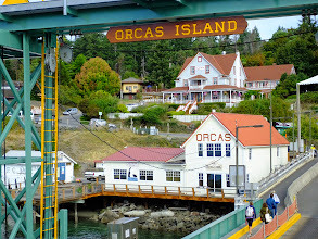 Photo: View of the ferry landing on Orcas