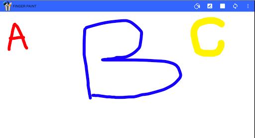 Finger paint ( Kids Art Game) 2.1.3 screenshots 2