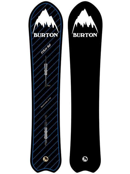 Burton Retro Fish 156 '2018