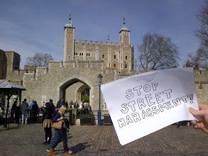 Photo: 4.13.13 London Landmarks against Street Harassment!