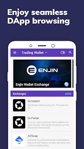 Enjin: Bitcoin, Ethereum, Blockchain Crypto Wallet App Latest Version Download For Android and iPhone 8