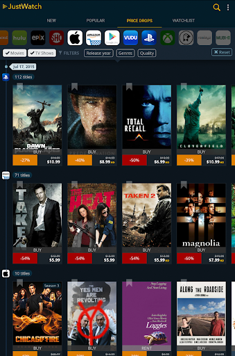 JustWatch - Search Engine for Streaming and Cinema 0.22.3 screenshots 9