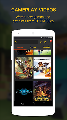 OPENREC.tv -Gaming Videos&Live screenshot