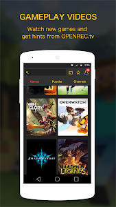 OPENREC.tv -Gaming Videos&Live screenshot 0